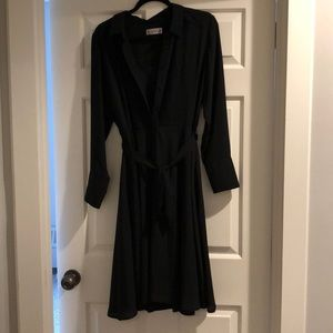 Nanette Lepore Black A-Line Dress